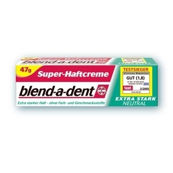 "blend-a-dent Super-Haftcreme ""extra stark neutral"" (47 g)"